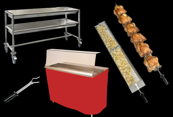 Spits ans rotisserie equipment