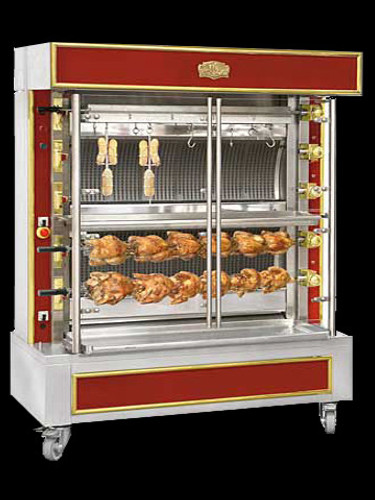Gas rotisseries - chicken rotisserie